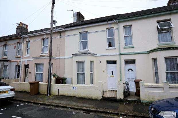 3 Bedrooms Terraced House for sale in Julian Street, Plymouth, Devon