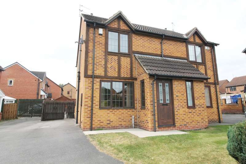 2 Bedrooms Semi Detached House for sale in Arlott Way, New Edlington