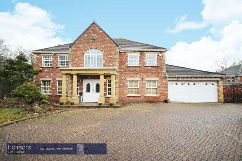 4 Bedrooms Detached House for sale in Wearish Lane, Westhoughton, Bolton, Lancashire.