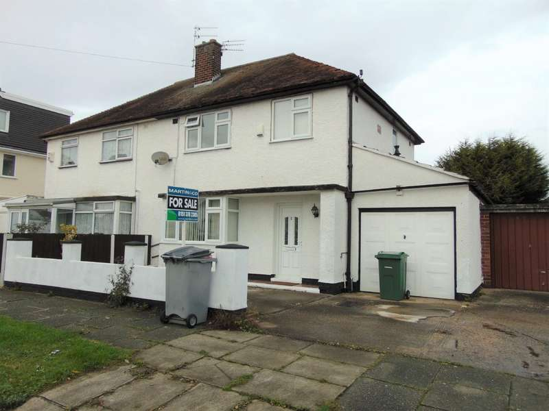 3 Bedrooms Semi Detached House for sale in Blundells Drive, Moreton