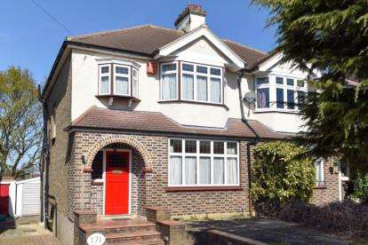 3 Bedrooms Semi Detached House for sale in The Avenue, West Wickham