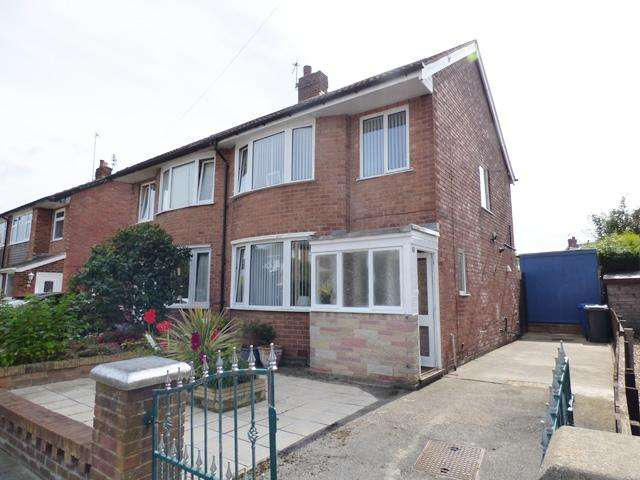 3 Bedrooms Semi Detached House for sale in Blenheim Drive, Thornton Cleveleys, Lancashire, FY5 4PH