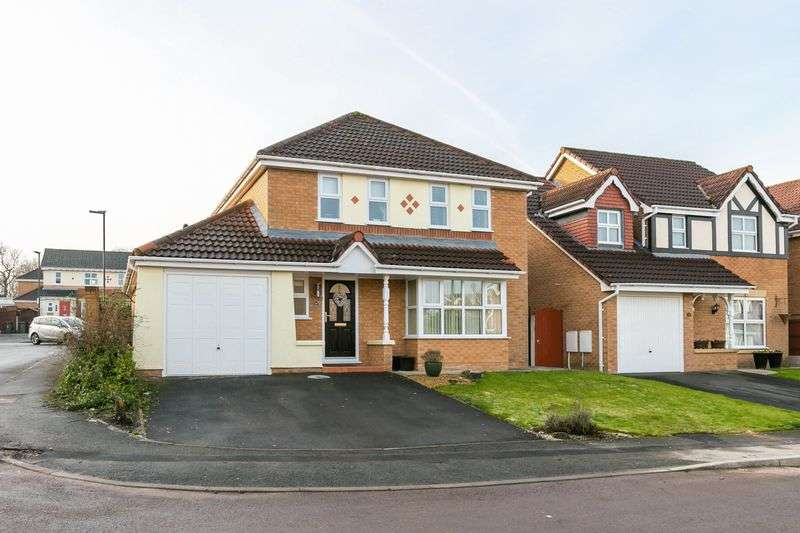4 Bedrooms Detached House for sale in Rylance Road, Winstanley, WN3 6LH
