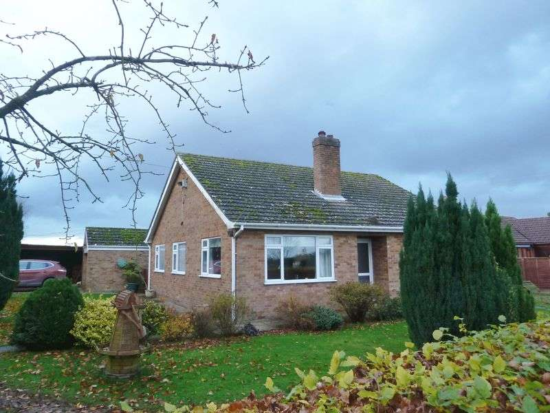 3 Bedrooms Detached Bungalow for sale in Langton Road, Sausthorpe, Near Spilsby