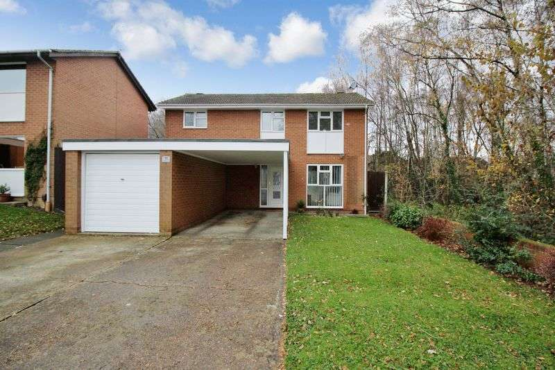 4 Bedrooms Detached House for sale in Sedgefield Close, Crawley