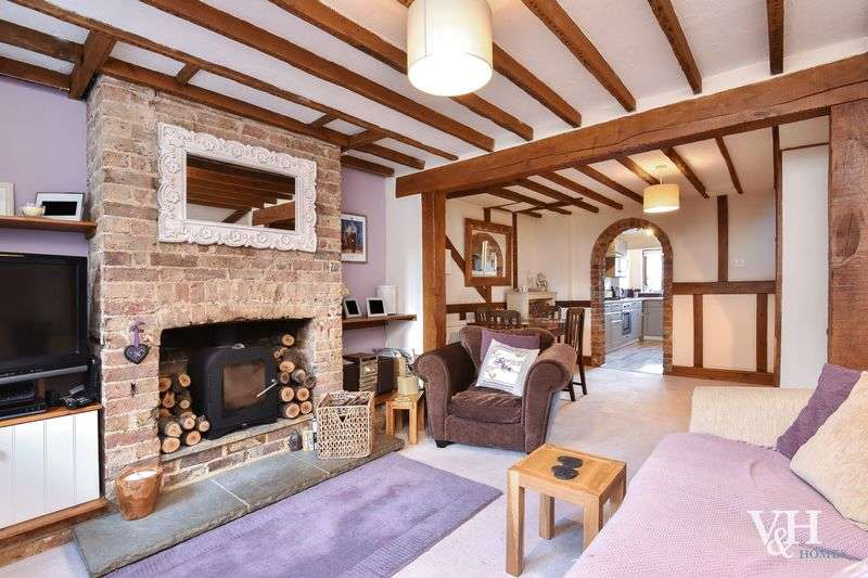 3 Bedrooms Terraced House for sale in Stoke Cottages, Cobham Road, Fetcham