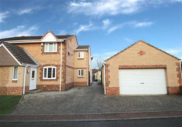 3 Bedrooms Semi Detached House for sale in Brooksfield, South Kirkby