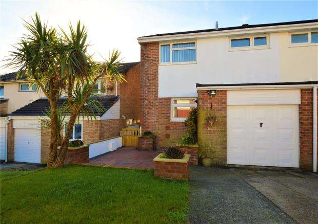 3 Bedrooms Semi Detached House for sale in Edwards Drive, Plymouth, Devon