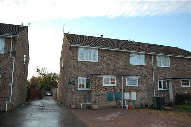 2 Bedrooms End Of Terrace House for sale in Francis Little Drive, ABINGDON, Oxfordshire, OX14 5PN
