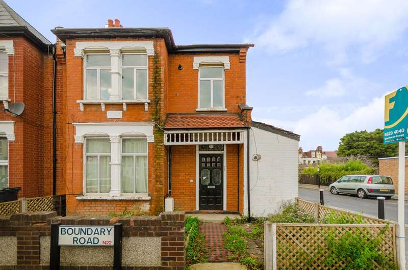 1 Bedroom Flat for sale in Boundary Road, Wood Green, N22