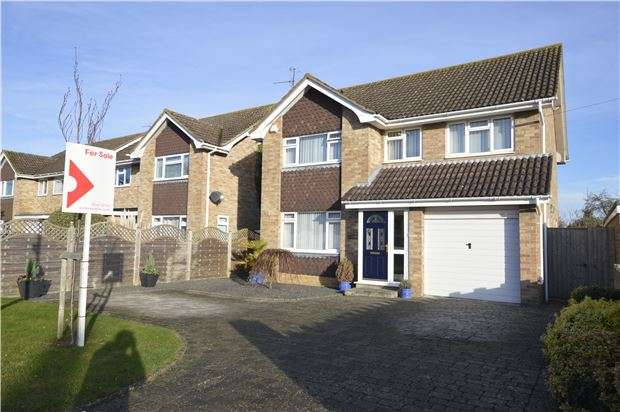 4 Bedrooms Detached House for sale in Loweswater Road, CHELTENHAM, Gloucestershire, GL51 3AZ