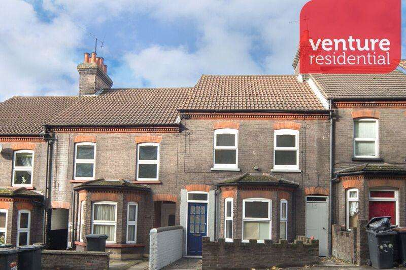 3 Bedrooms Terraced House for sale in Hitchin Road, Luton, Bedfordshire, LU2 0EW