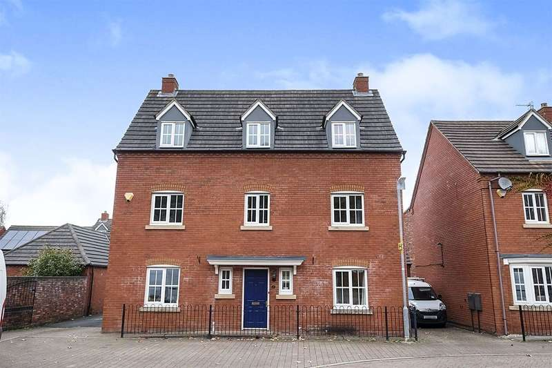 5 Bedrooms Detached House for sale in Ryder Drive, Muxton, Telford, TF2