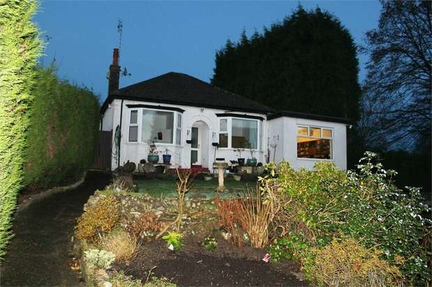 3 Bedrooms Detached Bungalow for sale in Congleton Road North, Church Lawton, Stoke-on-Trent, Cheshire