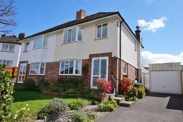 3 Bedrooms Semi Detached House for sale in Holywell Crescent, ABERGAVENNY, Monmouthshire