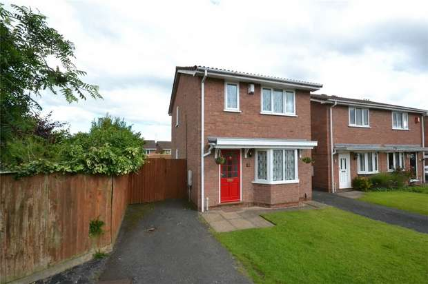 3 Bedrooms Detached House for sale in 1 Earls Drive, Aqueduct, Telford, Shropshire