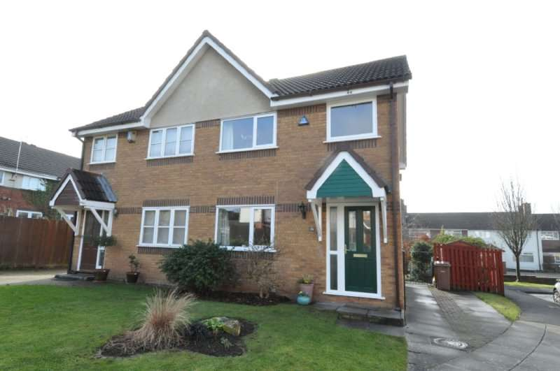 3 Bedrooms Semi Detached House for rent in Whiteside Close, Upton, Wirral