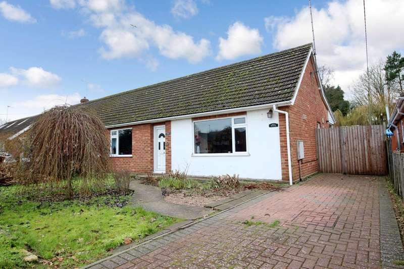 2 Bedrooms Semi Detached Bungalow for sale in Lilian Road, Spixworth