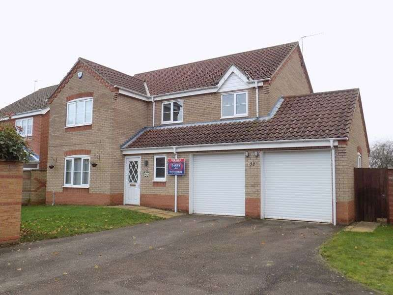 4 Bedrooms Detached House for sale in Caraway Drive, Bradwell, Great Yarmouth