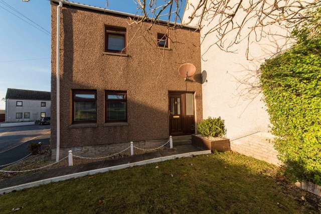 2 Bedrooms End Of Terrace House for sale in Strathbeg Court, Fraserburgh, Aberdeenshire, AB43 9ED