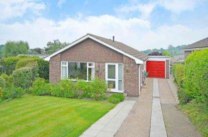 3 Bedrooms Bungalow for sale in Pennywell Drive, Holymoorside, Chesterfield, Derbyshire