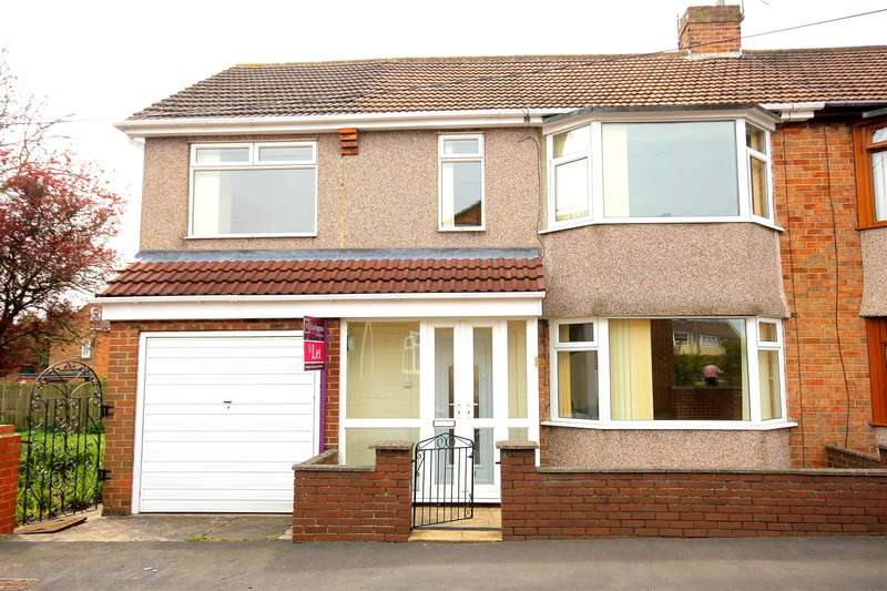 5 Bedrooms Semi Detached House for sale in Moor Crescent, Durham