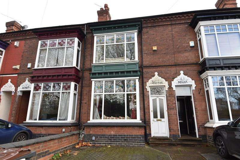 4 Bedrooms Terraced House for sale in Mary Vale Road, Bournville, Birmingham