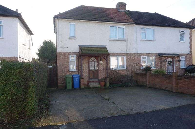 3 Bedrooms Semi Detached House for sale in Roberts Road, Aldershot