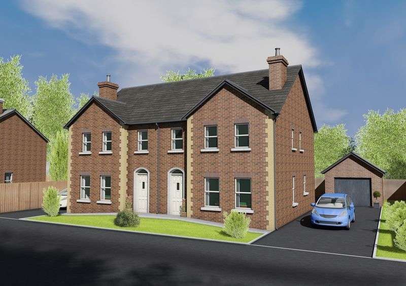 4 Bedrooms Semi Detached House for sale in Site 16 Bachelors Close, Portadown