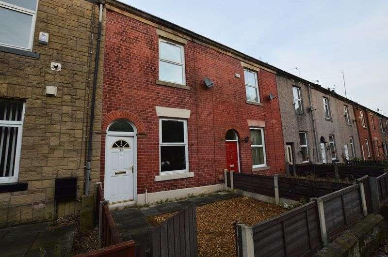 2 Bedrooms Terraced House for sale in Railway Terrace, Bury