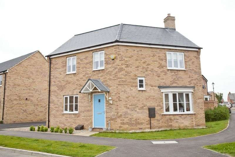 3 Bedrooms Detached House for sale in Bluebell Walk, Witham St Hughs, Lincoln