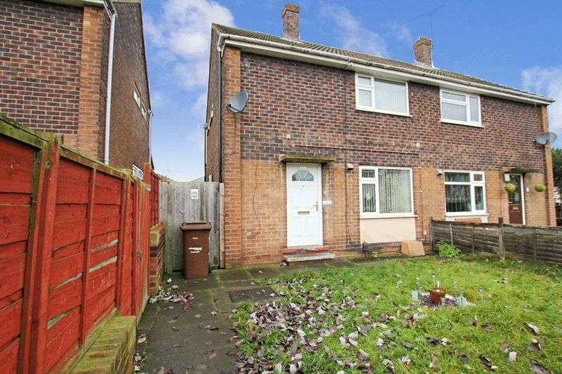 2 Bedrooms Semi Detached House for sale in Woodside, Castleford, West Yorkshire, WF10