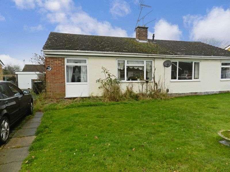 2 Bedrooms Detached Bungalow for sale in Southlands Close, Aldershot, Surrey, GU12