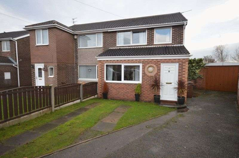 3 Bedrooms Semi Detached House for sale in Balmoral Drive, Knottingley
