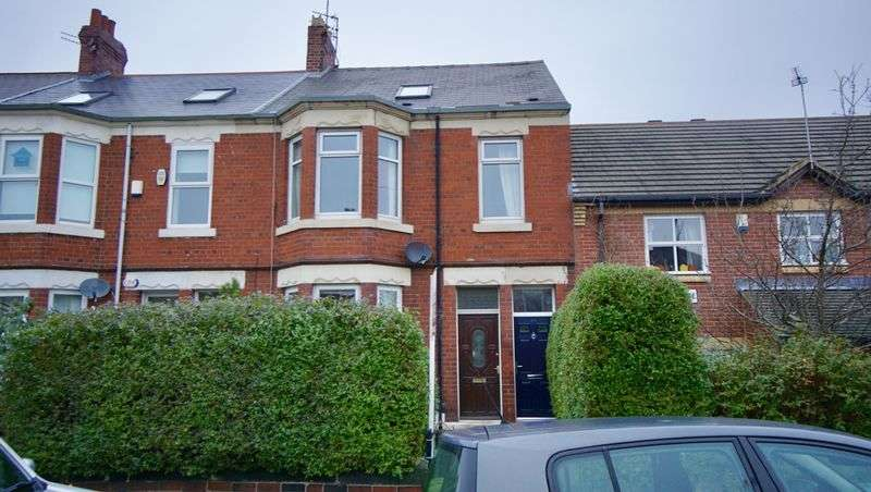 4 Bedrooms Maisonette Flat for sale in ROTHBURY TERRACE Heaton