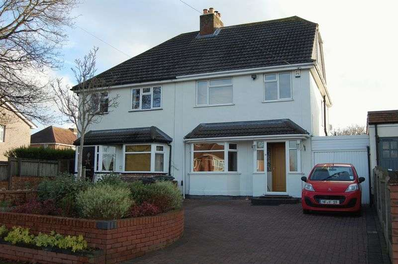 3 Bedrooms Semi Detached House for sale in Bowling Green Lane, Albrighton Wolverhampton