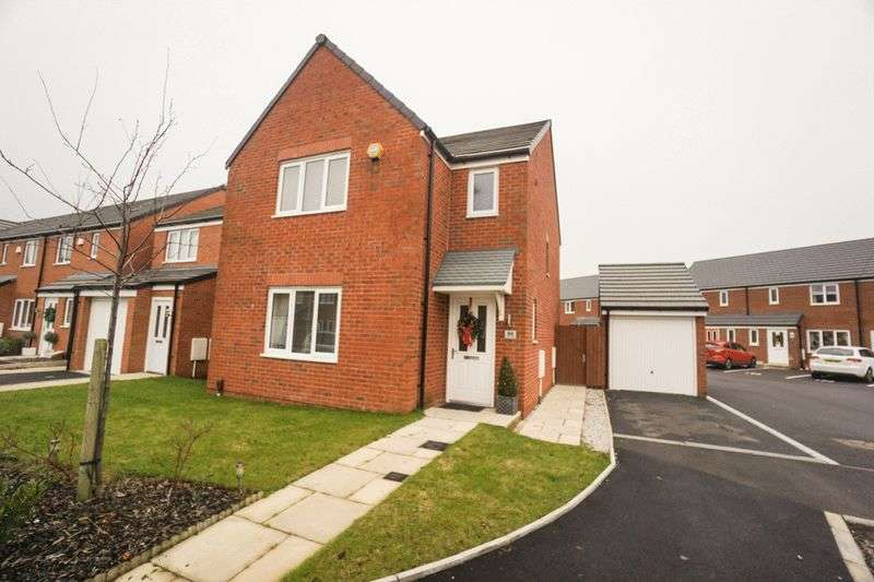 3 Bedrooms Detached House for sale in Harrier Close, Lostock
