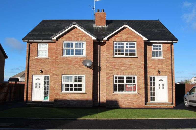 3 Bedrooms Semi Detached House for sale in 4 Timakeel Grove, Portadown