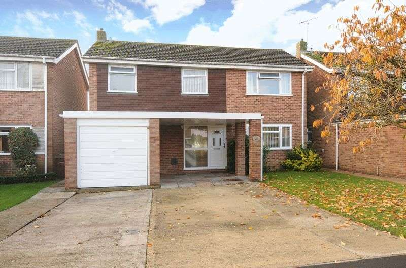 4 Bedrooms Detached House for sale in Cherwell Close, Abingdon