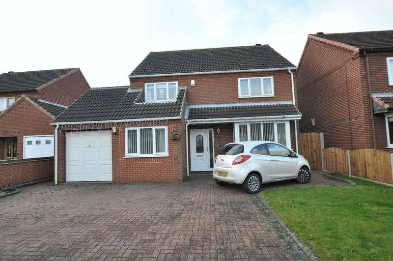 4 Bedrooms Detached House for sale in De Ferrers Croft, Stretton