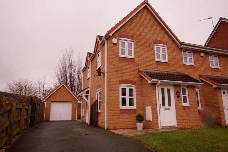 2 Bedrooms House for sale in College Fields, Tanyfron, Wrexham