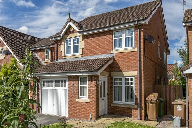 3 Bedrooms Detached House for sale in Threadneedle Court, St. Helens, Merseyside, WA9