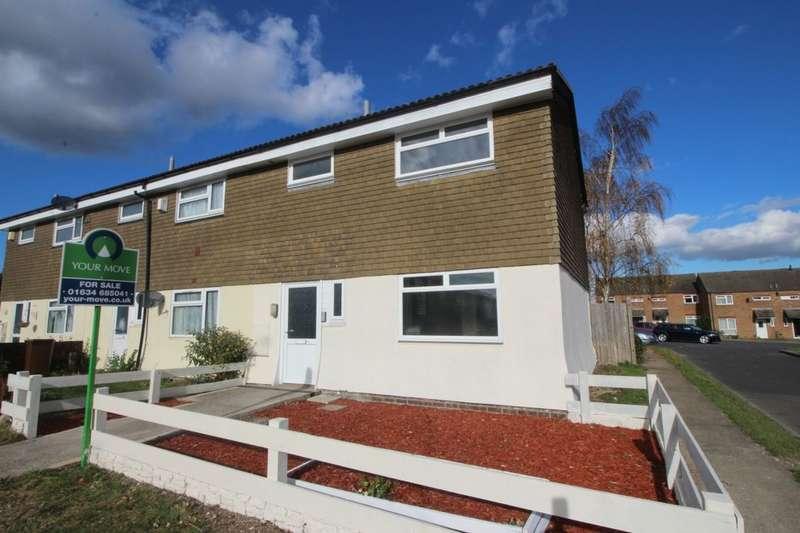 3 Bedrooms Property for sale in Heathfield Close, Walderslade, Chatham, ME5