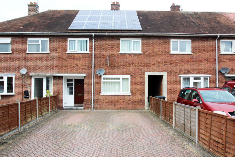 3 Bedrooms Terraced House for sale in Canterbury Road, Worcester, Worcester, WR5
