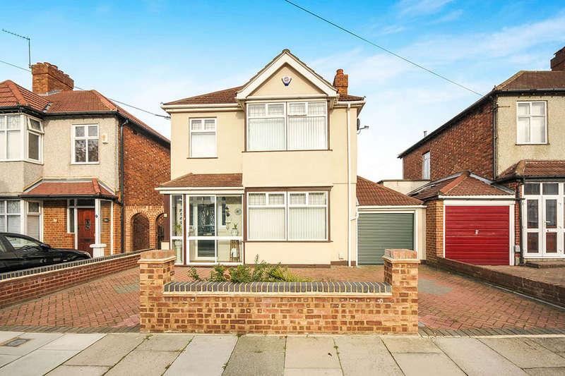 4 Bedrooms Detached House for sale in Cadwallon Road, LONDON, SE9