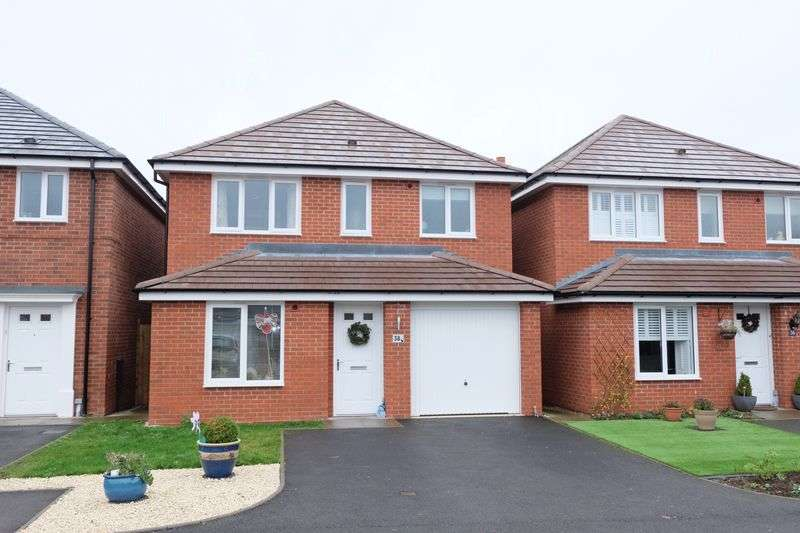 3 Bedrooms Detached House for sale in Lucy Baldwin Close, Stourport-On-Severn DY13 8YF