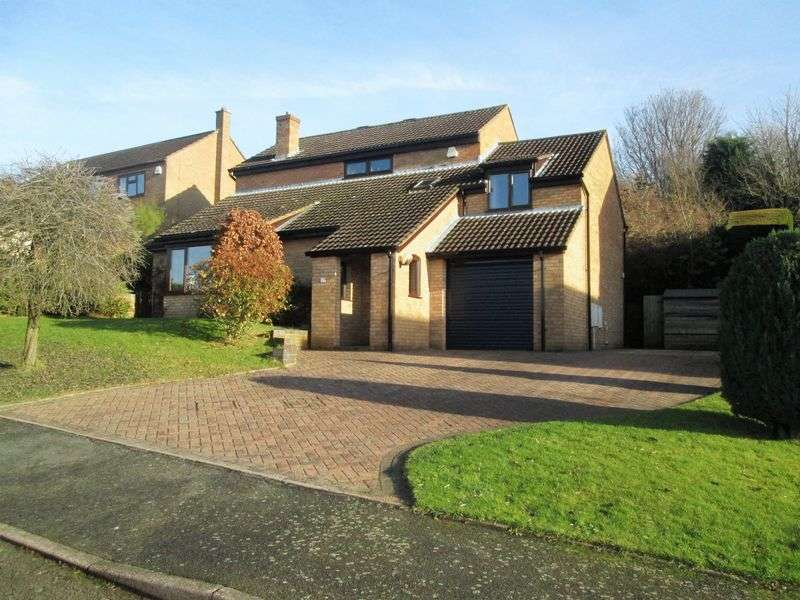 4 Bedrooms Detached House for sale in Muirfield Drive, Daventry, NN11 4SL