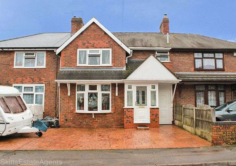 3 Bedrooms Terraced House for sale in Nursery Road, Bloxwich Walsall