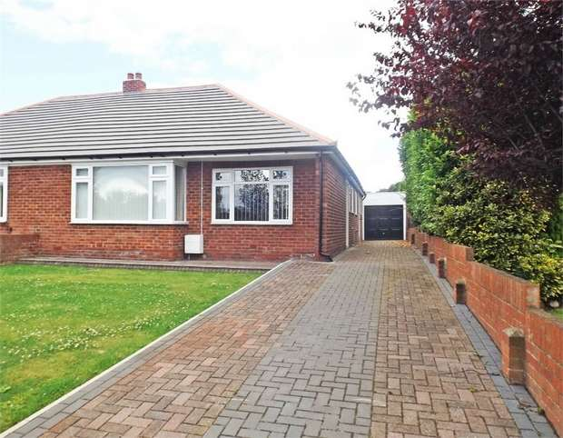 2 Bedrooms Semi Detached Bungalow for sale in Graylands, High Rickleton, Washington, Tyne and Wear