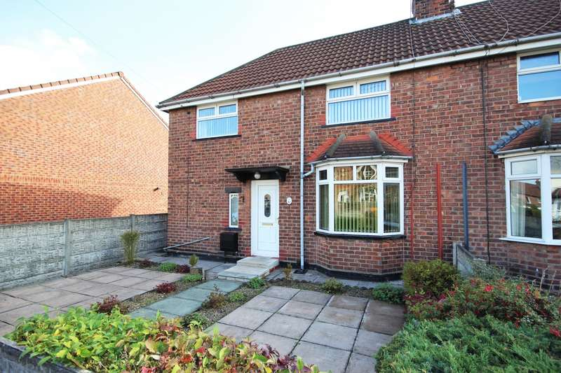 3 Bedrooms Semi Detached House for sale in Fletcher Grove, Northwich, CW9